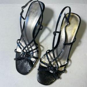 Ann Taylor Loft sling back heels, size 9M.